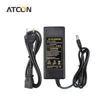 1Pcs 100V -240V to DC 12V 5A 60W Charger Lighting Transformers Power Supply Adapter For LED Strip light 3528/ 5050 EU US UK Plug