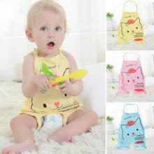 One piece baby romper Summer cartoon cat pattern cotton baby jumpsuit kids coveralls Toddler infant clothes set R2-16H