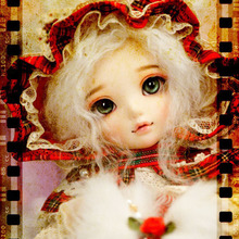 OUENEIFS Littlefee Chloe Fairyland 1/6 bjd sd dolls model reborn girls boys eyes High Quality toys makeup shop resin(China)