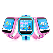 "New 1.54"" HD Touch Screen Kids SmartWatch For Android IOS System Kids Moblie Phone WIFI GPS AGPS LBS Positioning Anti-lost watch(China)"