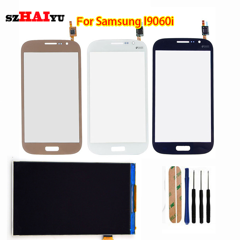 Free Shipping Test Original LCD Touch Panel for Samsung Galaxy Grand Neo plus I9060i  LCD Display Touch Screen Digitizer Panel<br><br>Aliexpress