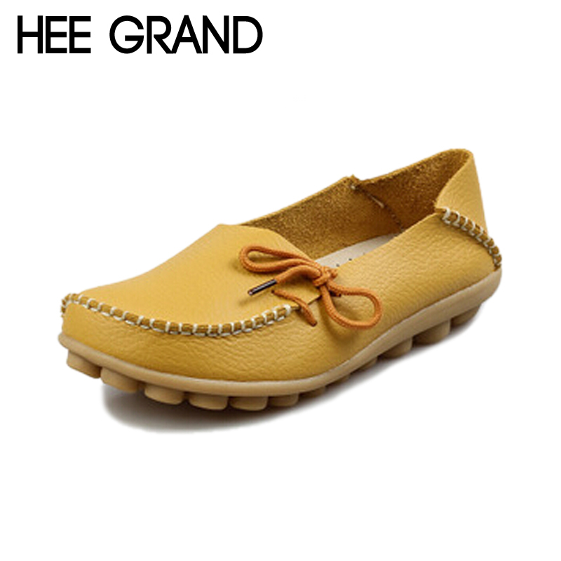HEE GRAND 2017 Casual Loafers Fashion Women Flats Peas Lace Up Comfortable Flat Platform Shoes Woman 10 Colors Size 35-40 XWD756<br><br>Aliexpress