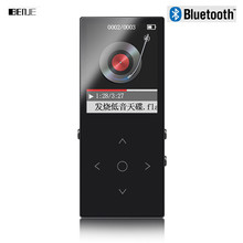 Original Touch Screen 8GB Bluetooth MP3 Music Player High Quality Lossless Alloy Metal Body Support 128GB TF Card with FM(China)