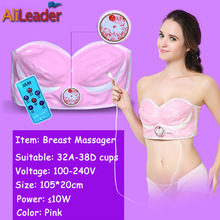 Breast Enlargement Machine Vibratory Bra Electric Body Massager Prevent Disease Of The Breast Far Infrared Electric Machine