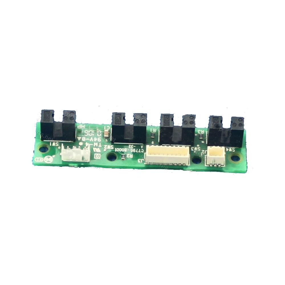 1Pcs Ink Suply Station Board For HP DJ 100 110 70 BIJ 2600 Used Plotter Part C2688-80005 C7796-60209 C8109-67014C7796-60137<br>