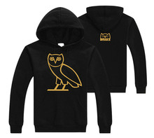 Hot Sale Men's  fashion Hoodies OVOX owl printing men's Casual plus cotton fleece Hoodie Pullover Sweatshirt high quality