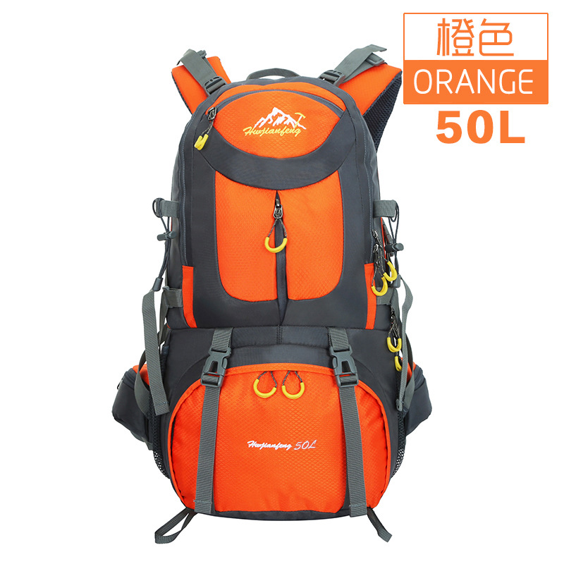 Outdoor mountaineering bag hiking camping bags of men and women in large capacity backpack backpack 50L<br><br>Aliexpress