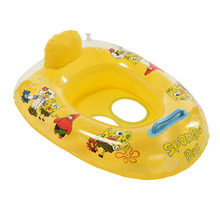 1PCS Cute Kids Baby Child Seat Float Boat For Water Sports Inflatable Swimming Laps Pool Swim Ring(China)