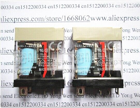 NEW relay G2R-1-SND(S)-24VDC G2R-1-SND(S) G2R-1 G2R-24VDC G2R-1-24VDC G2R1SND 24VDC DC24V 24V 10A DIP5 5pcs/lot<br>
