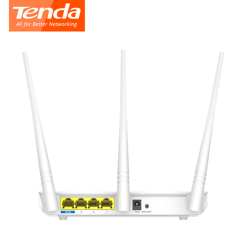 Tenda F3 300M Wireless WiFi Router Support 802.11g/b/n WiFi Repeater WDS WPS English Firmware Match with Tenda A301 Repeater(China)