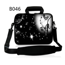 "Star Sky 10 12 13 14 14.1"" 15 17 7inch Notebook Laptop Shoulder Bag Cases Cover Pouch For Macbook Air Pro Dell Sony Acer HP(China)"