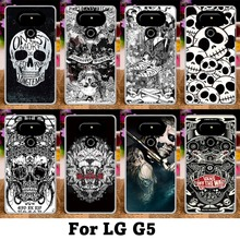 Mobile Phone Cases For LG Optimus G5 G6 Cover F700 H830 H850 H870DS H870 Case Plastic Soft TPU Cool Skull Bags Skin Housing