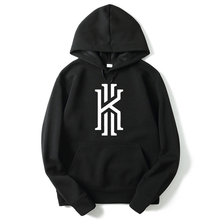 RUMEIAI New Fashion Kyrie Irving Print Mens Hoodies Sweatshirts Hip Hop Hoodie Black Jacket Men Clothes Hombre Marca Hooded(China)