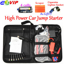 Discount! High Capacity Car Power Bank Car Jump 12V Starter Mini Portable Multifunctional Jumper Start with EU US UK Chargr Plug