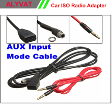 Free Shipping Brand New For BMW E46 98-06 AUX Cable REPLACE CD CHANGER 3.5mm Female Socket