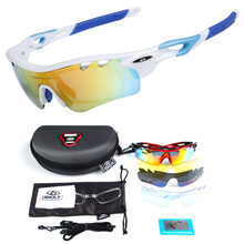 POLARIZED Sports Sunglasses Cycling Glasses with 5 Interchangeable Lenses(China)