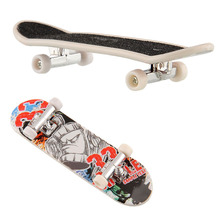 Kids Playing Finger Board Toy Brain Development New Finger Skateboard Deck Mini Board Boys Games Toy(China)