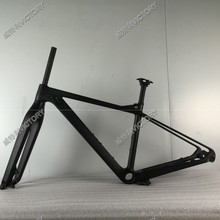 2017 Newest UD carbon MTB frame 27.5er Mountain bicycle frameset Quick Release Style(China)