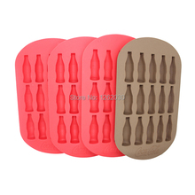 15 lattice originality DIY Coke bottle silicone ice cube tray  ice maker ice block mold