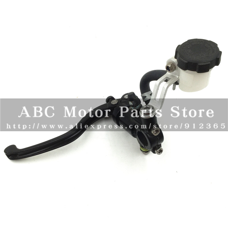 Hydraulic Clutch Lever with Oil Cup for refitting dirt bike pit bike motocross motorcycle M10 mirror mounts<br>