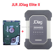 JLR JDiag Elite II Pro with SDD Softwar HDD For Land Rover & Jaguar Car Diagnostic Programming Tool PK JLR VCI / VCM II / VCM2(China)