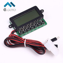 PCT601N Clock Timing Timer Power On/Off Controller Module Board LCD Display For PC(China)