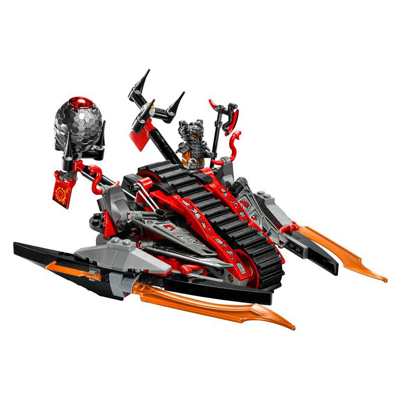 CHINA BRAND bricks toy Building Blocks Compatible with Lego Ninjago Vermillion Invader 70624<br><br>Aliexpress