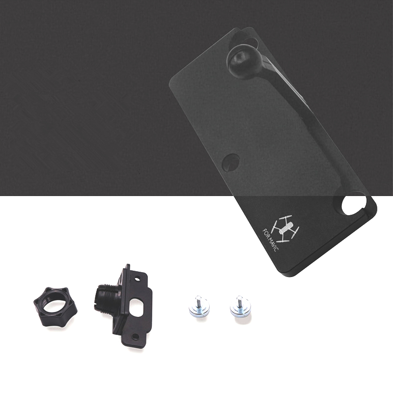 Sunnylife Mavic Pro 5.5 7.85 inch CrystalSky Monitor Holder Extension Aluminum Bracket Tablet Mount for DJI Spark Remote Control
