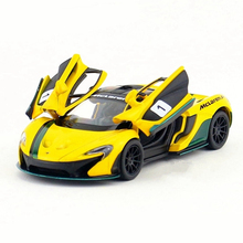 1:36 Kinsmart Die cast Racing Car Toy, Simulation P1 Sports Cars Model, Mini Vehicle For Collection, Toys For Children, Juguetes