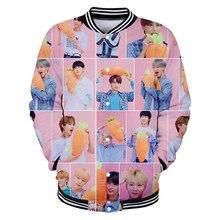 2019 Seventeen 3D Printed Baseball Jackets Women/Men Fashion Streetwear Jackets Hot Sale Casual Trendy Clothes(China)