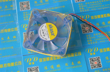5PCS Led cooling fan 60MM 6CM  60*60*20MM Cooling fan DC12V 2.5W ball bearing computer case LED  fan with 3pin