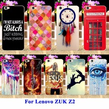 Cell Phone Cases For Lenovo ZUK Z2 5.0 inch Housing Covers Skin Sheath Durable Shell DreamCatcher Telephone Booth Letters Bags