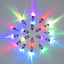 (20pcs/lot) Battery Operated 11Colors Super Bright LED Mini Party Light For Balloon Lanterns Vase Flower Lighting