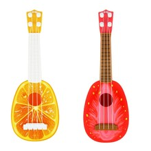 2017 New Design Children Mini Fruit Can Play Musical Instruments Guitar Toys Baby Kids Children Educational Toys