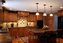 kitchen modular furniture kitchen solid wood kitchen cabinet customized kitchen cabinet furniture(China)