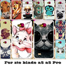 Soft Silicon TPU Phone Covers Cases For ZTE Blade AF3 A3/ZTE Blade A5 A5 pro AF 3 C341 T221 4.0'' Cases back covers bag for AF3