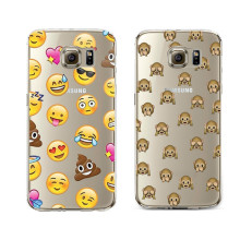 Funny Emoji monkey For Samsung Galaxy S3 S4 S5 S6 S7 Edge S8 Plus A3 A5 2016 2015 2017 J1 J2 J3 J5 J7 Grand Prime Case Silicone