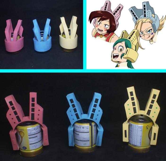 Anime Cosplay Prop Wild Wild Pussycats Helmet Belt Buckle My Hero Academia
