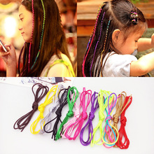 Women Girl Female Bohemia Knitting Headband accessories Handmade Ribbon Woven Rope Braided Hair Band girl hair ribbons  1m