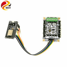 DOIT ESP-12F ESP8266 NodeMCU Development Board+DC Big Power Motor Drive Module for Control 2wd/4wd Robot Tank Chassis DIY RC Toy