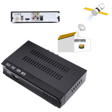 HD Digital Satellite IPTV Combo Receiver 1G 8M RAM DVB-S2  Set Top BOX + USB WIFI Dongle Support IKS Biss Key Power VU CCCAM
