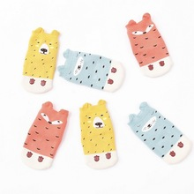 Free shipping Newborn sock boy super thick pure cotton 6-12 months baby socks add thick children's autumn/winter girl stock(China)