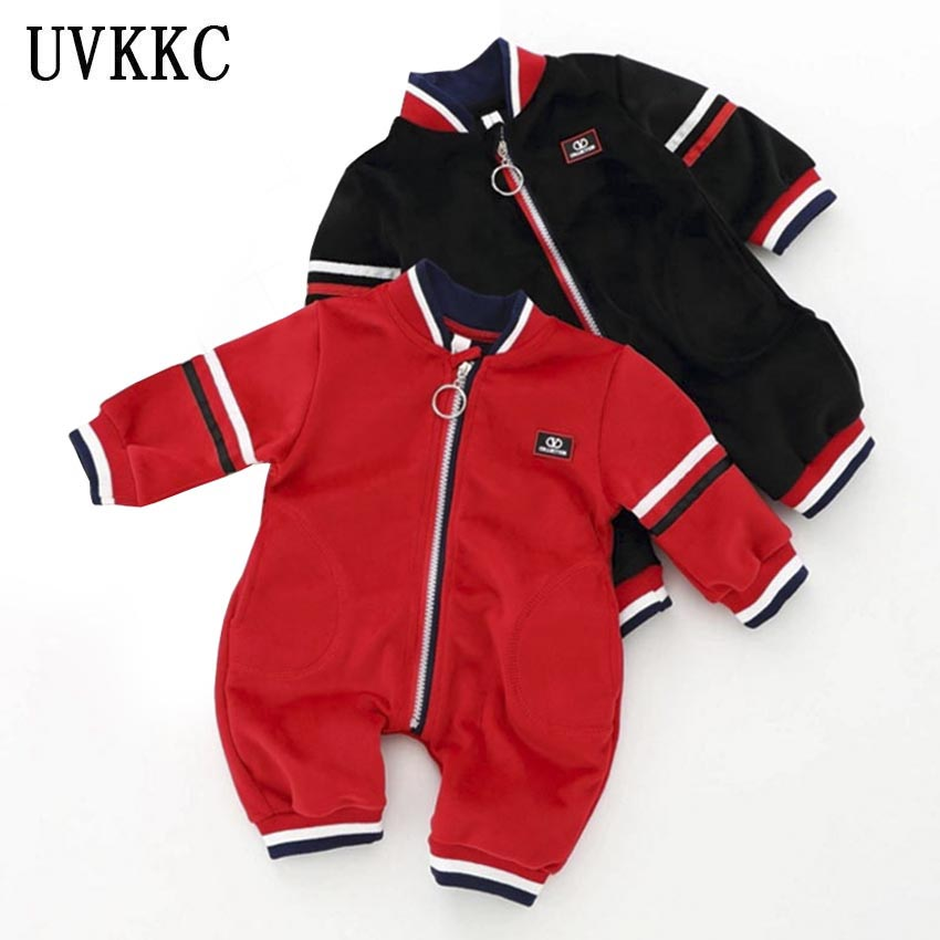 UVKKC Baby rompers newborn broadcloth jumpsuits winter autumn long sleeve cotton corduroy baby girls boys clothes<br>