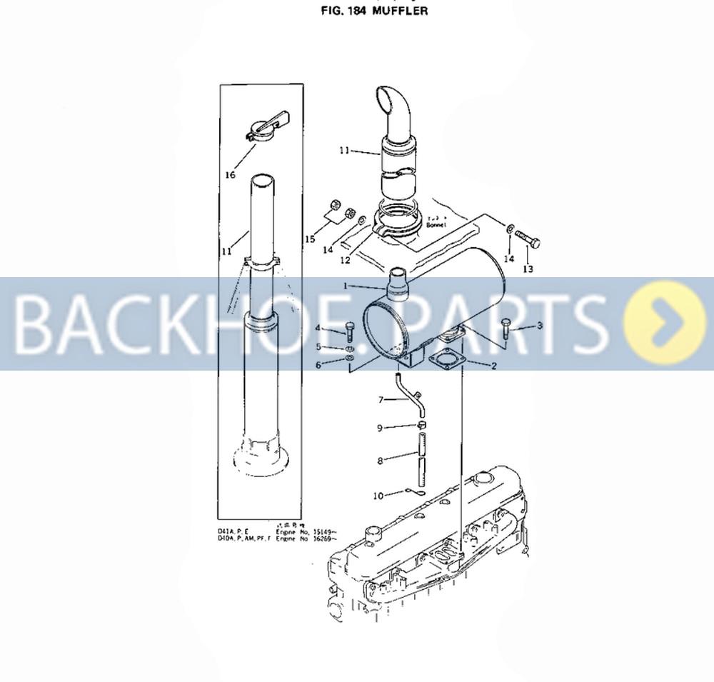Buy Stop Solenoid Kf927 12vdc For Kubota M105s M6800 Wiring Diagram Muffler Silencer 6136 11 5521 Komatsu Excavator Pc200 1 2