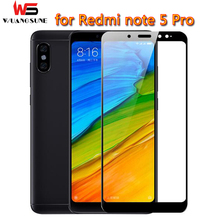 Buy xiaomi Redmi note 5 tempered glass full cover prime screen protector redmi note 5 pro phone glass film xaomi note5 64gb for $1.39 in AliExpress store