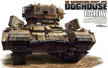 1/35 Scale Tiger 4624 IDF Heavy APC DOGHOUSE Early Plastic Model Building Kit(China)