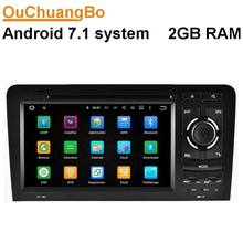 Ouchuangbo android 7.1 car radio for Audi A3 S3 2003-2011 with wifi bluetooth gps navigation AUX 2 RAM(China)