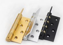 5mm thick heavy welding large iron door hinge hinge shaft welding with pin hole free 3 inch detachable hinge
