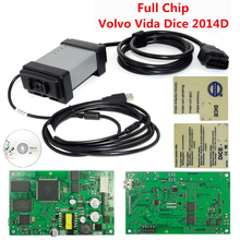 Professional Diagnosis Vida Dice 2014D For Volvo Cars Power Interface For VOLVO VIda Dice Full Chip Firmware Update VIDA IN ONE