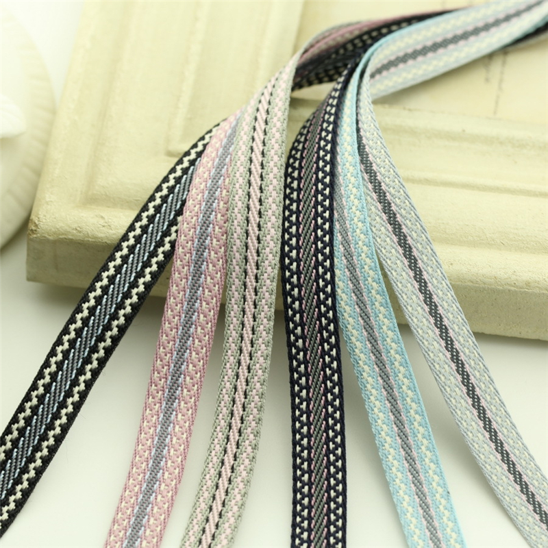 5meter/lot  new ribbon lace 10mm handmade diy hair accessories Korean ethnic wind jacquard accessories for sewing ribbon T-008